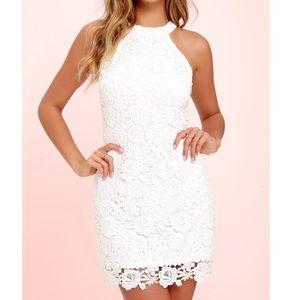 Dresses & Skirts - LuLus white lace dress